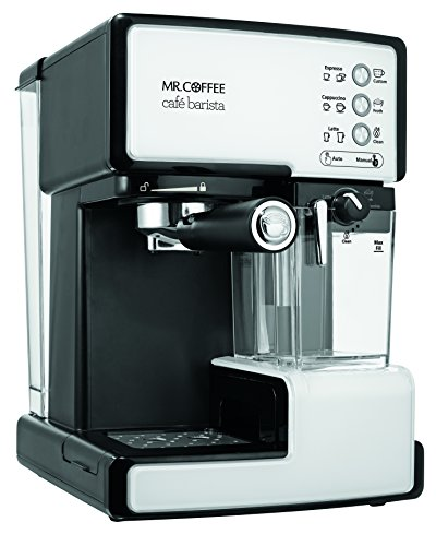 mr coffee cafe barista manual