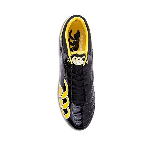 Phoenix Club 8 Black/Yellow Rugby Boot Black