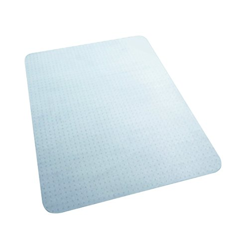 HON Rectangle Studded Chair Mat, 36'' W, White by HON