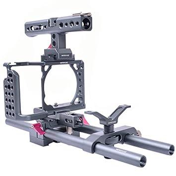 Wewoo 2698 Conjunto para Jaula de cámara con asa y Sistema de ...