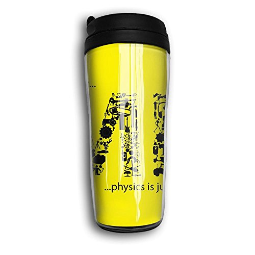 Me Letters Design Travel Mug Coffee Thermos Stainless Steel Flask Water Bottle -