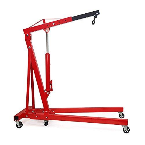 Hawk Tools 750kg 0.75 Ton Heavy Duty Garage Workshop Car Van Vehicle Auto Manual Gearbox Transmission Hoist Floor Support High Lift Jack