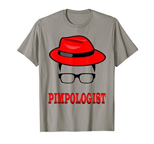 Blue Pimp Hat - Pimp Hustle Man T-Shirt Hat For Men Glasses Pimpologist