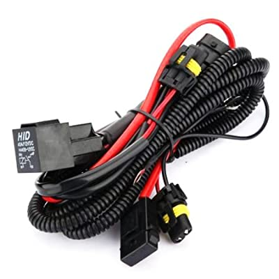 Innovited Xenon HID Conevrsion Kit Relay Wiring Harness 9005 9006 9012 9145 H10 HB3 HB4: Automotive