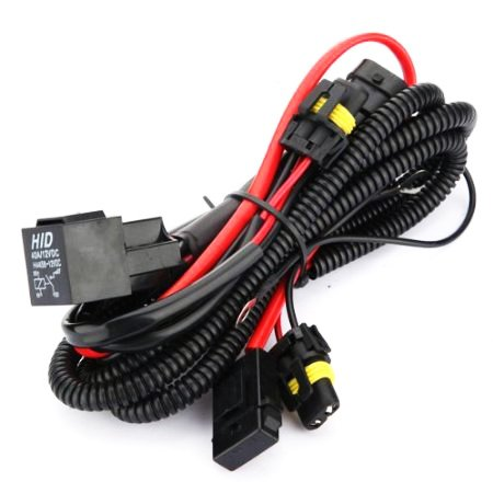 (Innovited Xenon HID Conevrsion Kit Relay Wiring Harness 9005 9006 9012 9145 H10 HB3 HB4 )