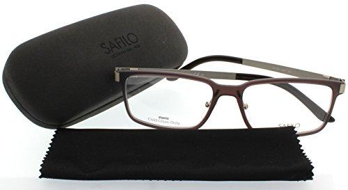 UPC 762753621962, SAFILO DESIGN Eyeglasses SA 1025 0Hdp Brown Gold 57MM