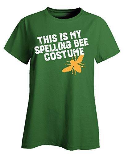 This is My Spelling Bee Costume Funny Beekeeping Art for Halloween Apairist - Ladies T-Shirt Irish -
