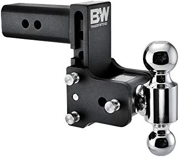 "B&W Tow & Stow - Fits 2.5"" Receiver, Dual Ball (2"" x 2-5/16""), 5"" Drop, 14,500 GTW"