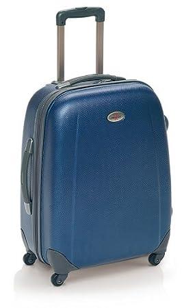 Maleta rígida en material ABS modelo 86 Graff de John Travel (cabina, azul): Amazon.es: Equipaje