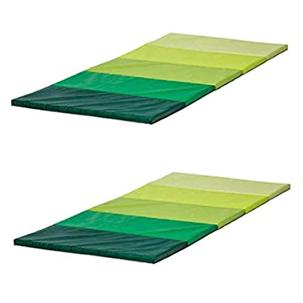 Esterilla de gimnasia Ikea plufsig plegable, verde,78&nbsp ...