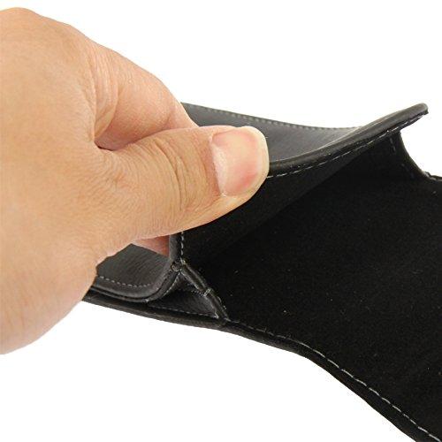 Mxnet Funda de piel de tirón vertical con clip de cinturón para Samsung Galaxy S5 / G900 Fundas