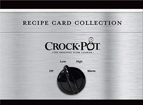 Crock-Pot Recipe Card Tin