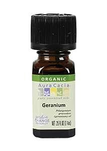Aura Cacia Organic Geranium - .25 oz