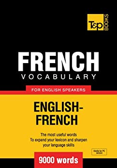 French Vocabulary English Speakers English French ebook