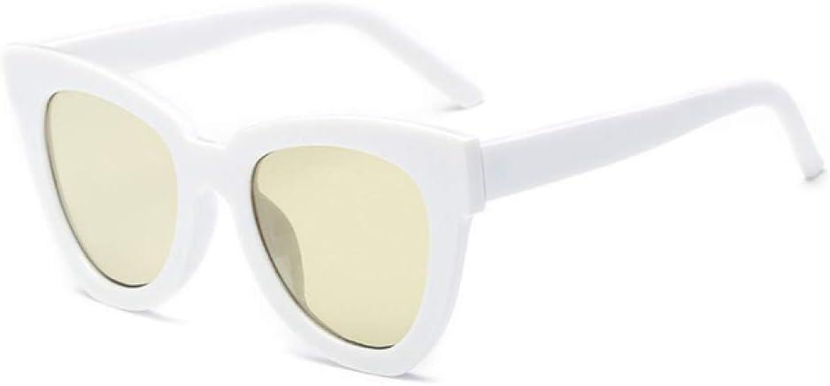 ZYJ Gafas de Sol de Moda Cat Eye Mujer Diseñador de la Marca Gafas de Sol Vintage Gafas graduadas Femeninas Vitange Ladies Eyewear UV400