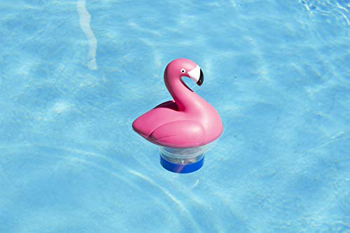 Poolmaster Swimming Pool Chlorine Dispenser, Flamingo