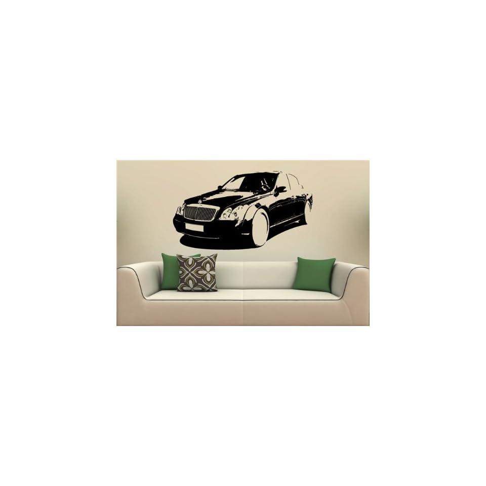 Wall MURAL Vinyl Decal Sticker Car MAYBACH 57 S. 1676
