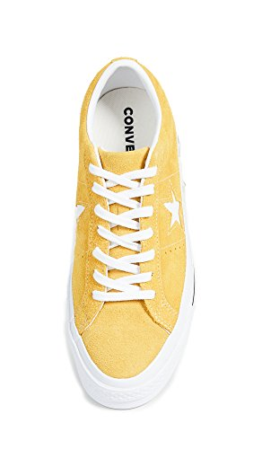 One Converse Men's Suede Mineral Sneakers Yellow Star rrwBd5q