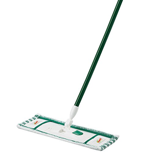 Libman Commercial 117 Microfiber Wet/Dry Floor Mop, Steel Handle, 18