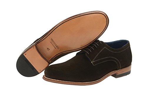 hombre amp; Piel Zapatos Gordon Marrón claro Marrón de cordones marrón para de Bros 8YqxxwEZd