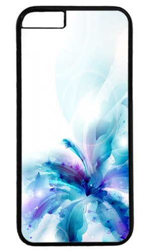 Blue Flower Easter Thanksgiving Masterpiece Limited Design PC Black Case for iphone 6 by Cases & Mousepads