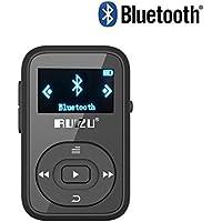 RUIZU X26 MP3 Player Bluetooth Walkman Mini Clip 8GB Can Play 30 Hours Support SD Card FM Radio Voice Recorder Music Player Black