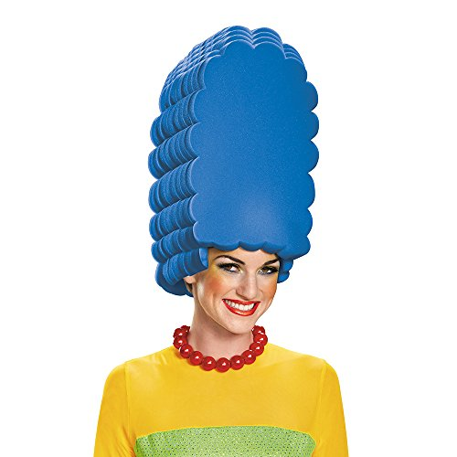 Disguise Women's Marge Costume Wig, Blue, One Size ()