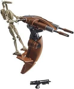 STAR WARS STAP y droide de batalla (juguetes) (importado de Inglaterra)