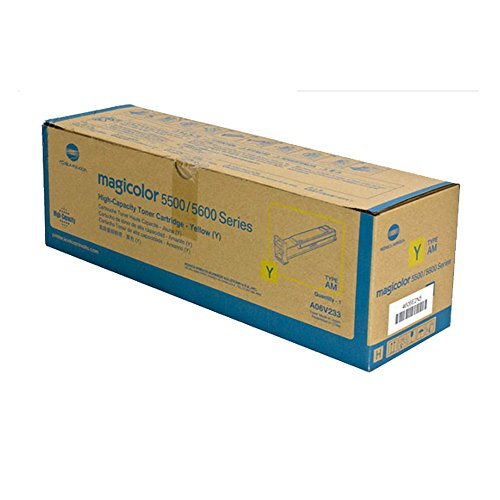 KONICA MINOLTA MAGICOLOR 5570 Yellow Original Toner (12,000 Yield) (Toner Yellow 5570)