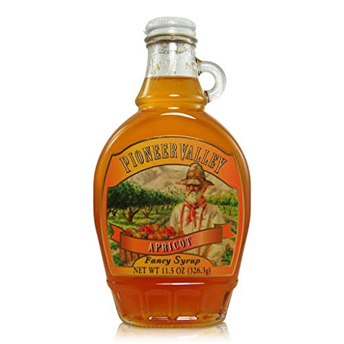 Pioneer Valley Gourmet Apricot Syrup (Syrup Fruit)