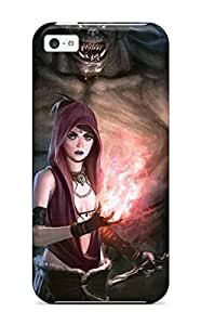 Anti-scratch And Shatterproof Dragon Age Origins Phone Case For Iphone 5c/ High Quality Tpu Case