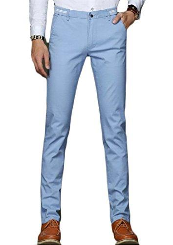 light blue chino pants - 9