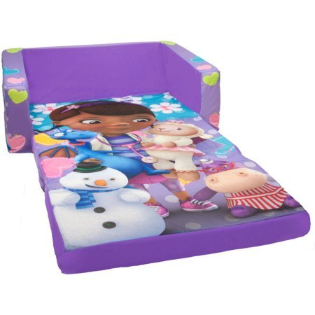 Marshmallow 2-in-1 Flip Open Sofa - Disney Doc McStuffins