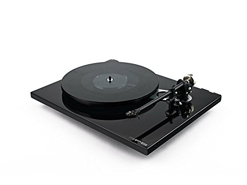 Rega RP6 Turntable with RB303 Tonearm, TTPSU Power Supply, Dust Cover (Gloss Black)