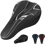 DEERU Gel Bike Seat Cover- Premium Bicycle Saddle Pad, Extra Gel Cushion- Bike Saddle Cushion, Bike Seat Cover