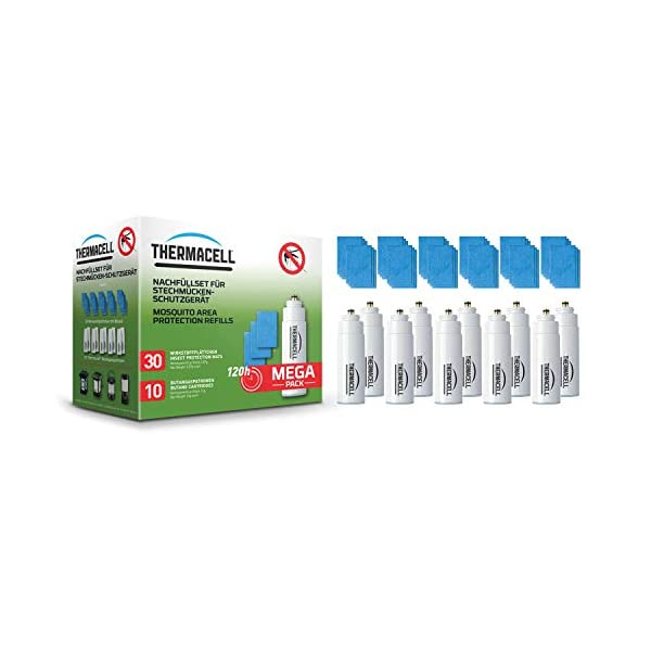 ThermaCell R-10 - Ricarica + carta antizanzare Rasch, set di protezione antizanzare 2 spesavip