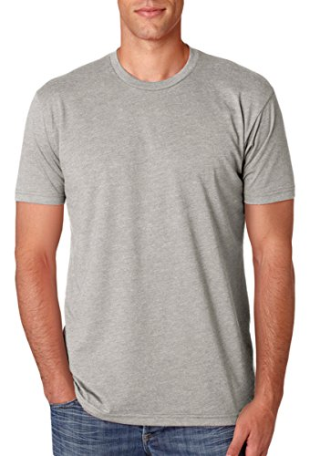 Next Level Apparel N6210 Mens Premium CVC Crew - Silk, Extra Large