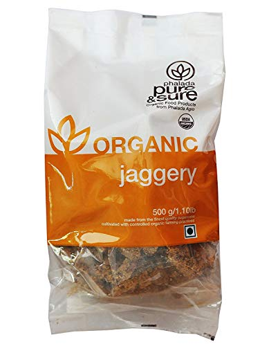 Pure & Sure Organic Jaggery, 500 g by Hindustan Mart