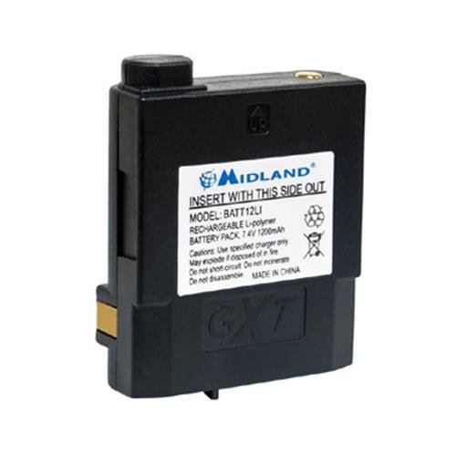 Midland Lithium Polymer Battery for GXT2000 and GXT2050 Two-
