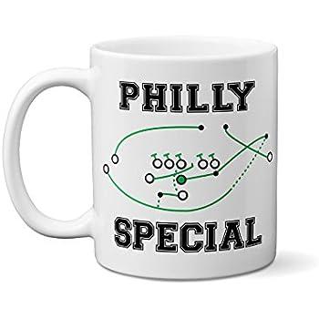 Eagles Mug - Philly Special Mug - Funny Philadelphia Eagles Superbowl Mug -  4th Down Play - Nick Foles Touchdown - Special Football Mug - Super Bowl ... 0b2cbde438