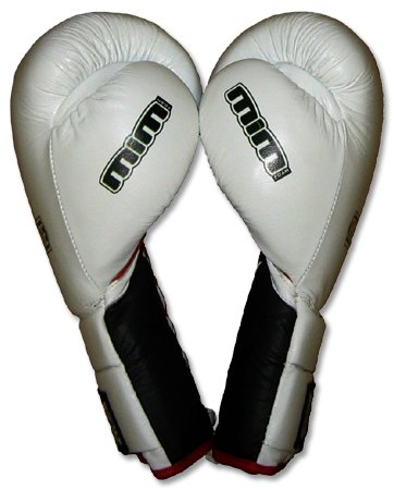 Deluxe MiM-Foam Sparring Gloves - Lace-up for Muay Thai, MMA, Kickboxing, Boxing-14oz