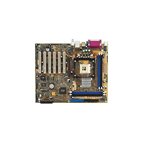 Asus P4SDX SIS 655 & SIS 963L chipset, Socket 478 for Intel Pentium 4/Celeron. 4 x DDR DIMM Sockets, 6 PCI, 1 AGP 8X, On board LAN and audio. ATX form factor. (Socket Motherboard 478 Asus)