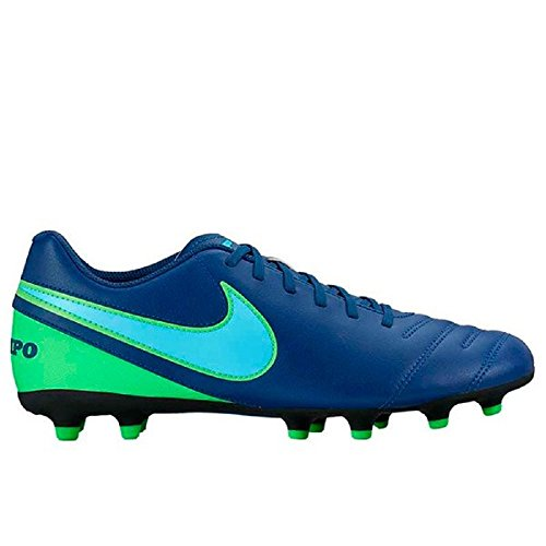 Nike 856934-443, Botas de Fútbol Unisex Adulto Azul (Coastal Blue / Polarized Blue / Rage Green)