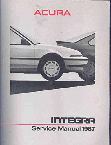 1986 Acura Legend Shop Repair (1986 Shop Manual)