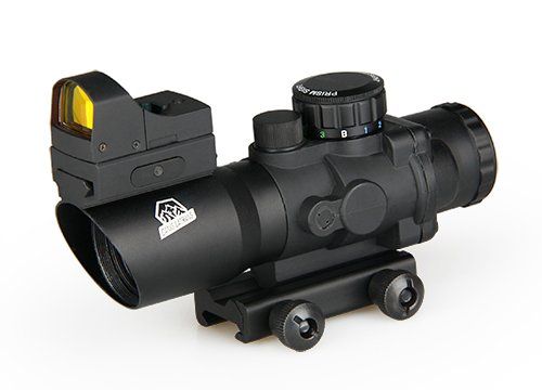 Canis Latran A set of 4x Rifle Scope with Red Dot Sights Scope for hunting by Canis Latran