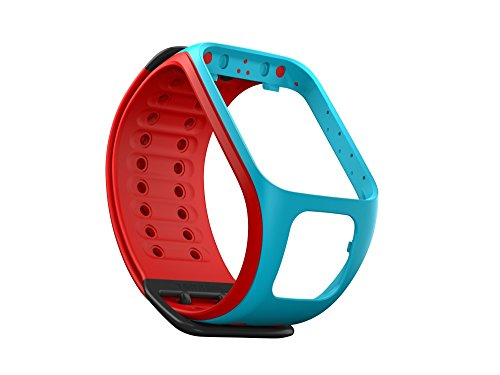 TomTom Fitness Tracker Accessory for TomTom Spark watches - Scuba Blue/Red