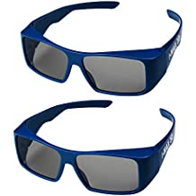 Super Clear 3D Glasses (IMAX) for 3D Projector,Dream Theater and 3D Cinema(2PACK).
