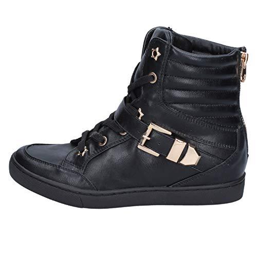Donna Sneaker Pelle Milano Francesco Nero xB7Rgwv4vq