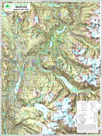 (Green Trails Maps, Whistler 92J1S)