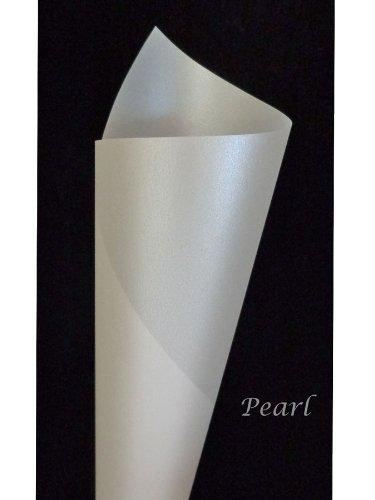 - Curious Iridescent Translucent Pearl 27# Text Paper - 50 Pk